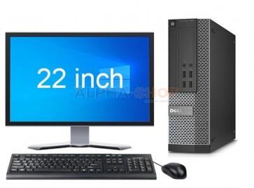 """Dell OptiPlex 7020 SFF + 22"""" monitor"""