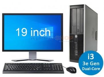 """HP Elite 8300 i3 3e Gen + 1x 19"""""""