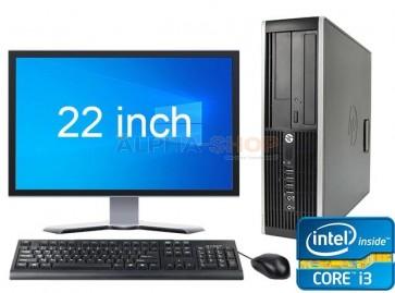 """HP Elite 8300 i3 3e Gen + 1x 22"""""""