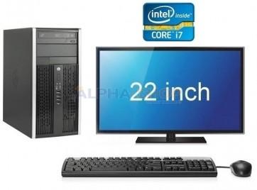 """HP Elite 8300 i7 3e Gen Quad Core + 22"""" Widescreen"""