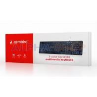 Gembird KB-UML3-01 USB met BackLight Toetsenbord
