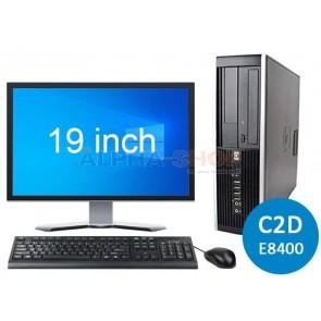 """HP Elite 8000 C2D + 1x 19"""""""