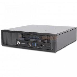 """HP EliteDesk 800 G1 USDT i5 4e Gen + 2x 22"""" Monitor + 2 jaar garantie!"""