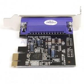 StarTech 1 Port PCI Express Parallel Adapter Card - SPP/EPP/ECP