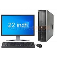 """HP Elite 8300 i3 3e Gen + 22"""" Widescreen + 2 jaar garantie!"""