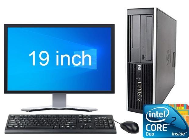 """Afbeelding van HP Elite 8000 C2D + 19"""" Widescreen + Gratis Windows 10"""